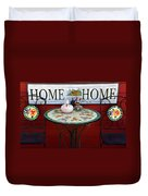Home Sweet Home Duvet Cover by Jeff Lowe