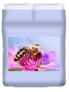 Honey Bee  Duvet Cover by Elena Elisseeva