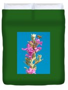 Honey Bees On Sage 1 Duvet Cover