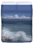 Honokohau Aloalo Aheahe D T Fleming Beach Maui Hawaii Duvet Cover