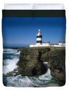 Hook Head Lighthouse, Co Wexford Duvet Cover