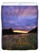 Hoosier Sunset - D007743 Duvet Cover