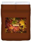Hope-autumn Duvet Cover