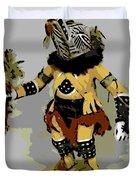 Hopi Dancer Duvet Cover