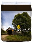 Hopkins Covered Bridge Duvet Cover