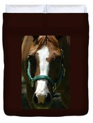 Horse Face Duvet Cover