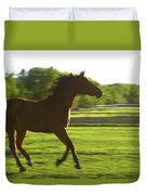 Horse Galloping Duvet Cover