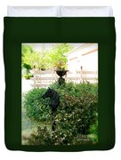 Horse Hitching Post 2 Duvet Cover