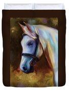 Horse Of Colour Duvet Cover