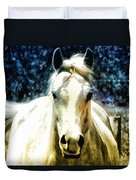 Horse Sense Duvet Cover