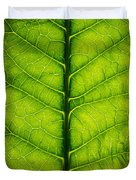 Horseradish Leaf Duvet Cover
