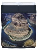 Horseshoe Bend View Duvet Cover