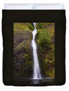 Horsetail Falls Oregon Duvet Cover