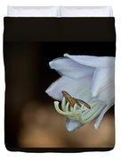 Hosta Blossom 2 Duvet Cover