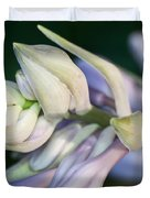 Hosta Blossoms Duvet Cover