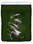 Hosta Flowers Duvet Cover