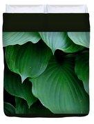 Hosta Green Duvet Cover