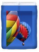 Hot Air Ballons Duvet Cover