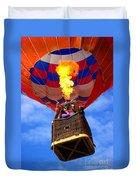 Hot Air Balloon Duvet Cover