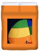 Hot Air Balloon Rigging Duvet Cover