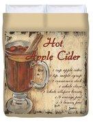 Hot Apple Cider Duvet Cover