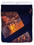 Hot Rust Duvet Cover