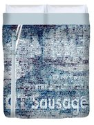 Hot Sausage Duvet Cover