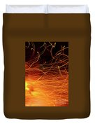 Hot Sparks Duvet Cover