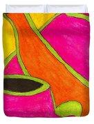 Hot Tea... Cold Juice Duvet Cover