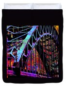 Hot Town Summer In The City Duvet Cover