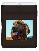 Hound Dog Duvet Cover