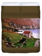 House At The Coast Duvet Cover