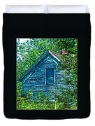 House In The Woods Art Duvet Cover