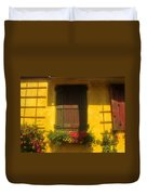 House Of Yellow Duvet Cover