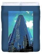 Houston Architecture 2 Duvet Cover
