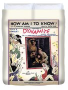 How Am I To Know Duvet Cover