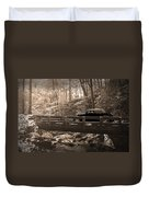 How To Tour Mountains Duvet Cover