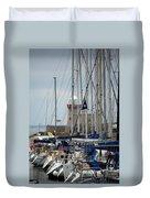 Howth Lighthouse 0003 Duvet Cover