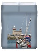 Howth Lighthouse 0004 Duvet Cover