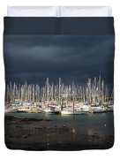Howth Yacht Club Marina, Co Dublin Duvet Cover