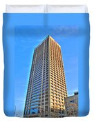 Hsbc Tower Duvet Cover