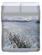 Hubbard Glacier, Gilbert Point Duvet Cover