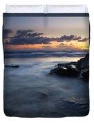 Hug Point Sunset Duvet Cover