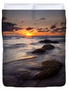Hug Point Tides Duvet Cover