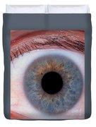 Human Eye Duvet Cover