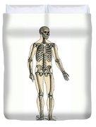 Human Skeleton Duvet Cover
