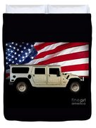 Hummer Patriot Duvet Cover