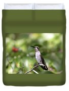 Hummingbird - Berries Duvet Cover
