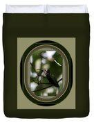 Hummingbird - Card - Glint Of The Eye Duvet Cover