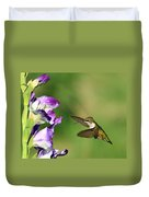 Hummingbird 2 Duvet Cover